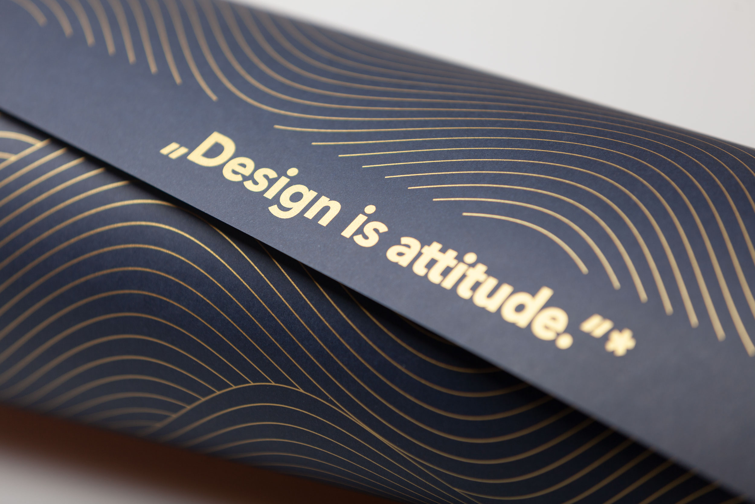 Design is attitude