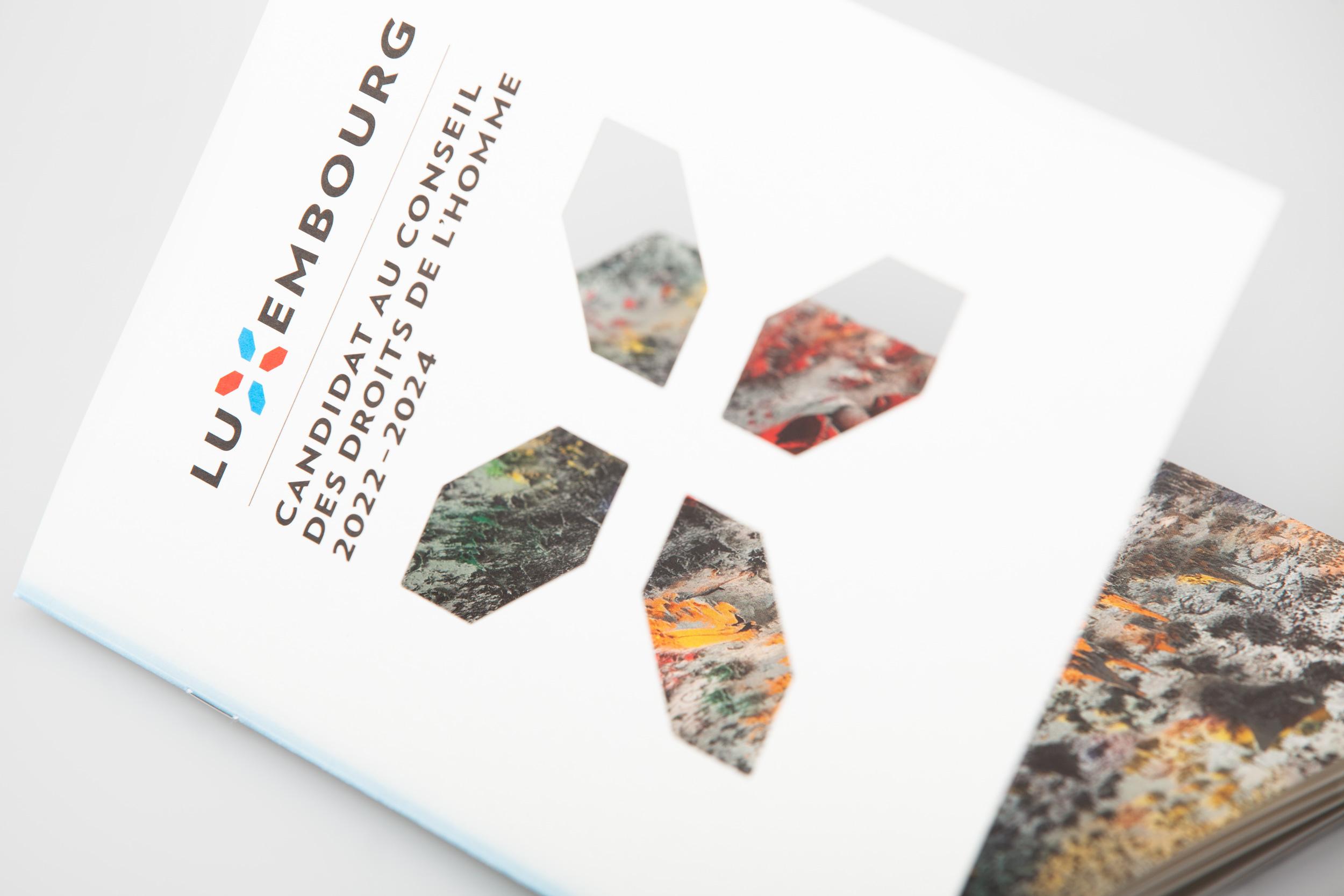 UN-Menschenrechtsrat Kandidatur Luxemburg Broschüre